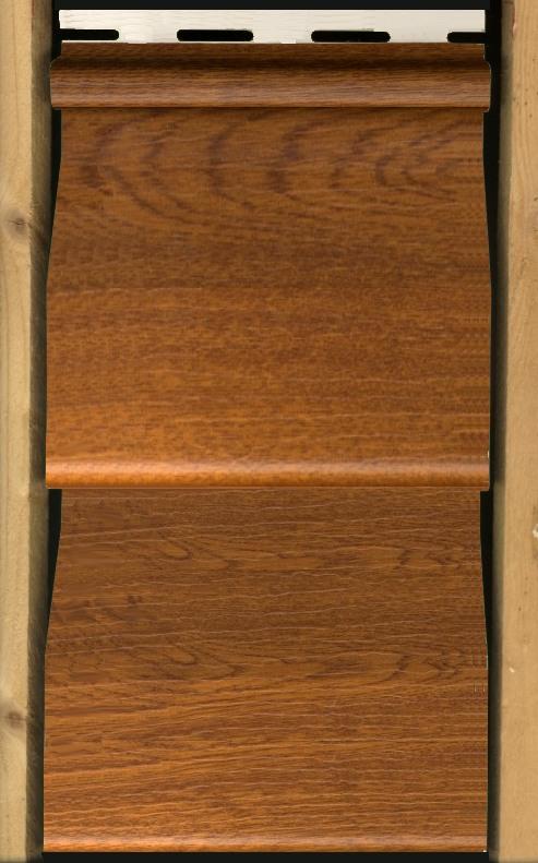 Bardage ch ne for Bardage pvc exterieur imitation bois
